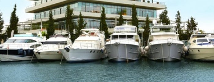Ataköy Marina is one of Istanbul.