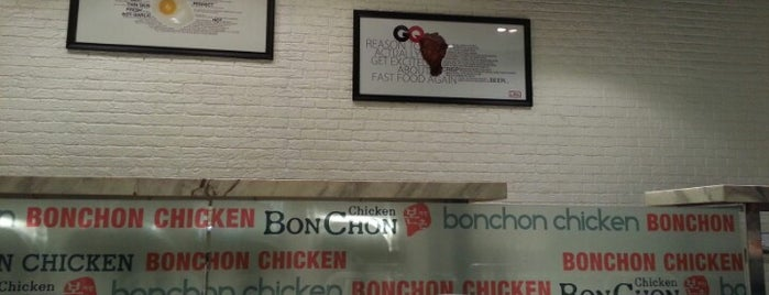 BonChon Chicken is one of Great places for everything.