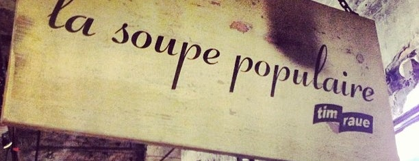 La Soupe Populaire is one of Berlin Baby.