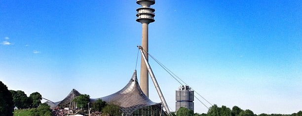 Olympiapark is one of Am Here !!!.