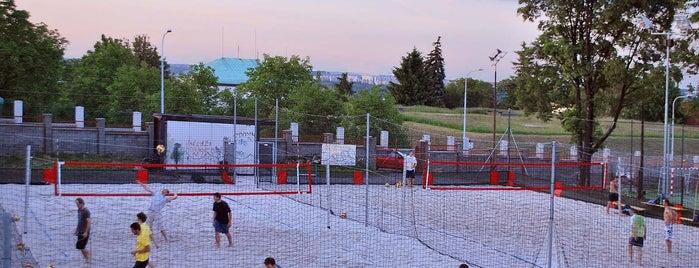 Tatran Střešovice is one of Beach volejbal v Praze.