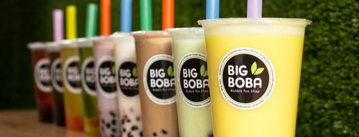 Big Boba Bubble Tea Shop is one of ʕ •ᴥ•ʔ.