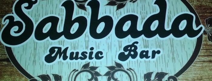 Sabbada Music Bar is one of Baladas e Barzinhos.