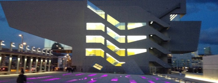 Disseny Hub Barcelona (DHUB) is one of Barcelona : Museums & Art Galleries.