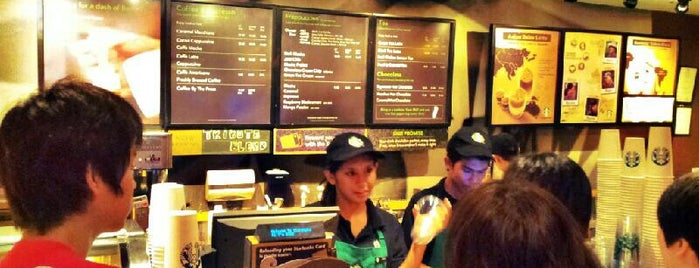 Starbucks is one of yam cha~.