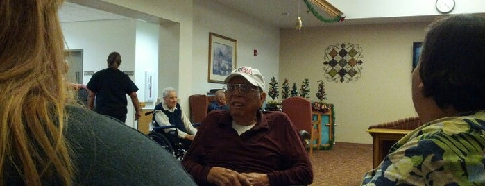 Frank M. Tejeda Texas State Veterans Home is one of Frequent.
