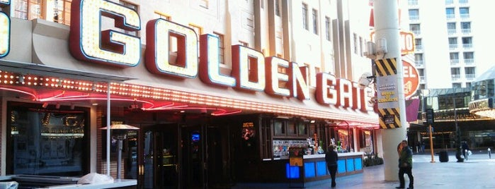 Golden Gate Hotel & Casino is one of Vegas Baby!!.