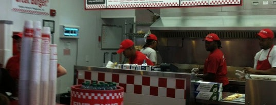 Five Guys is one of Guide to Hampton's best spots.
