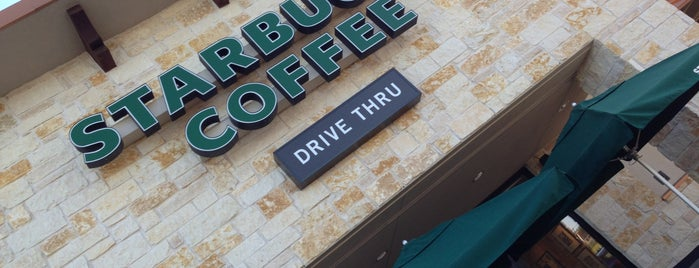 Starbucks is one of AUS Faves and To Do.