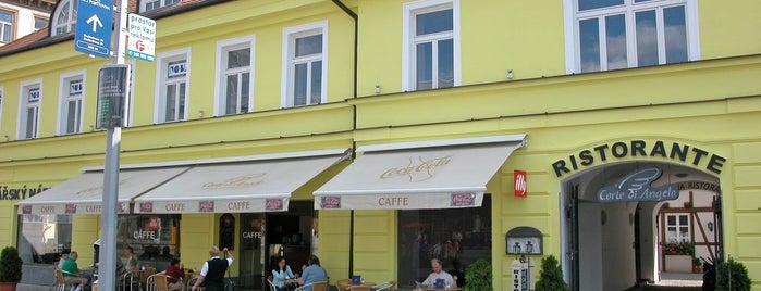 Corte di Angelo - Caffe is one of Prague Cafés.