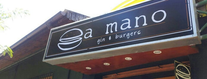 A Mano Gin&Burgers is one of Chilecito 🗻.