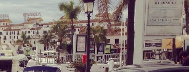 Puerto Banús is one of Málaga: Coffee, brunch, shopping & chill places!.