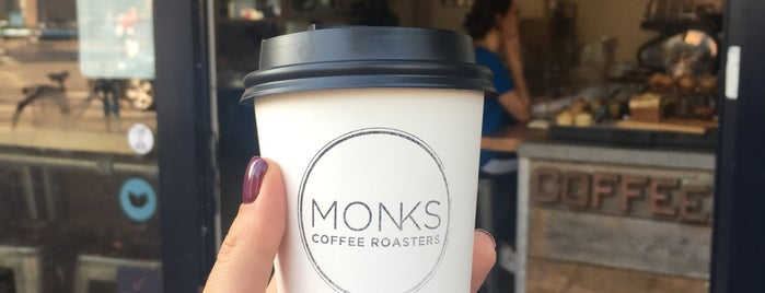 Monks Coffee Roasters is one of Coffee to drink in CNW Europe.