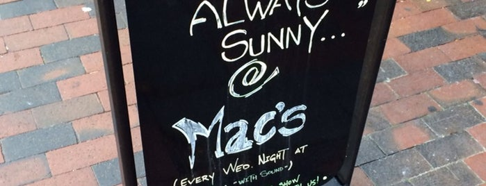 Mac's Tavern is one of Philadelphia To-Do.