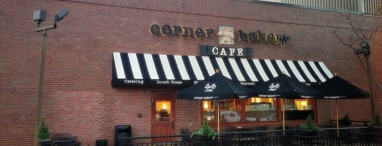 Corner Bakery Cafe is one of Food & Drinks.
