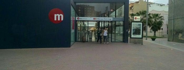 Metro Alboraya - Peris Arago is one of VENTA DE ENTRADAS FORMULA 1 Y MOTOGP VALENCIA.