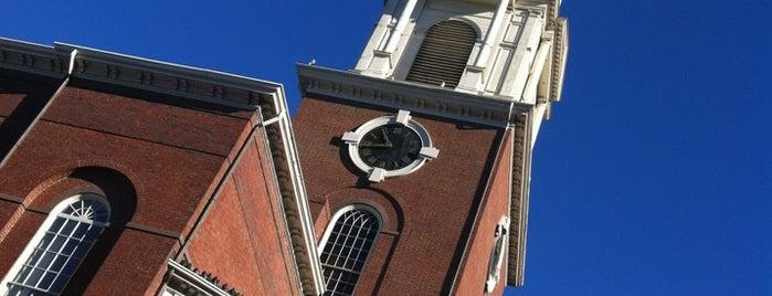 Park Street Church is one of USA East Coast.