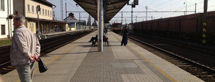 Železniční stanice Planá u Mariánských lázní is one of Železniční stanice ČR: P (9/14).