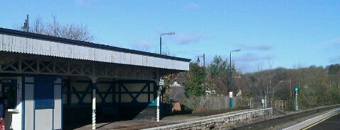 Chepstow Railway Station (CPW) is one of Railway stations I've been to.
