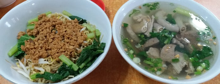 Bakmi Aliang is one of The 15 Best Places for a Vegetarian Food in Jakarta.