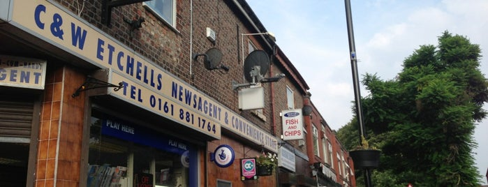 Beech Road Fish & Chip Shop is one of Best places in Chorlton.