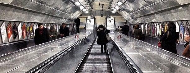 Warren Street London Underground Station is one of Tube Wifi Launch Stations Jun 2012.