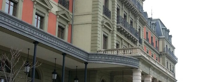 Palais Wilson is one of Genève City Guide.