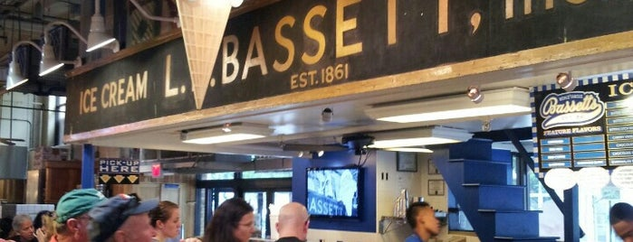 Bassett's Ice Cream is one of LevelUp Philly Spots.