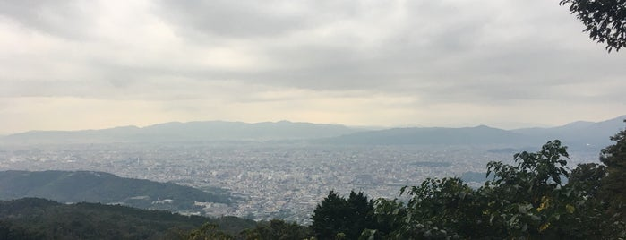 Mt Daimonjiyama is one of Free stuff Kyoto.