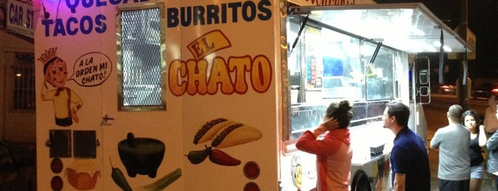 El Chato Taco Truck is one of California's Top 20 Burrito Places.