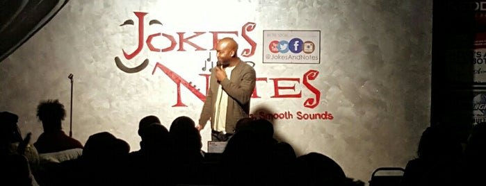 Jokes And Notes Comedy Club is one of Comedy open mics.