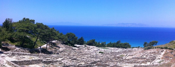 Kamiros is one of Explore Rhodes.