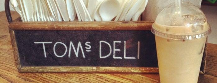 Tom's Deli is one of Café & Boulangerie.