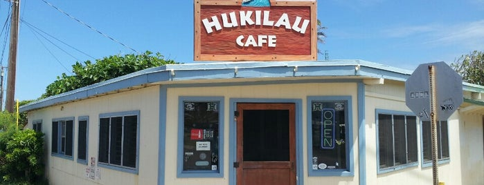 Hukilau Cafe is one of Hawaii Munchies.