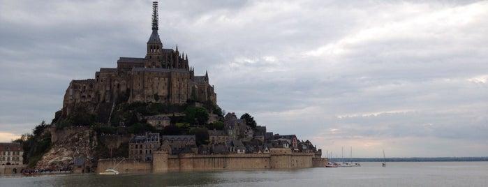 Monte Saint-Michel is one of Bucket List Places.