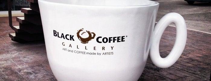 Black Coffee Gallery by Yuri Zatarain is one of Coffee Break.