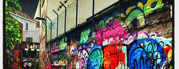 Werregarenstraat (Graffitisteegje) is one of Student van UGent.