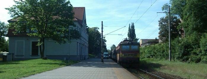 Železniční zast. Plzeň zastávka is one of Železniční stanice ČR: P (9/14).