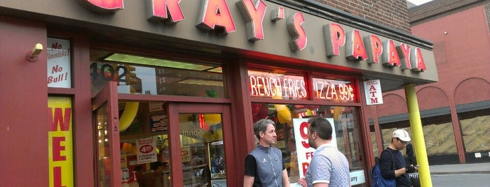Gray's Papaya is one of NYC To-Do.
