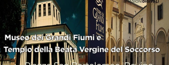 Museo dei Grandi Fiumi is one of #invasionidigitali 2013.