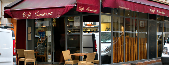 Café Constant is one of T+L's Guide to Eating Like a Local.