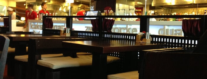 Две палочки is one of Кафе с розетками.