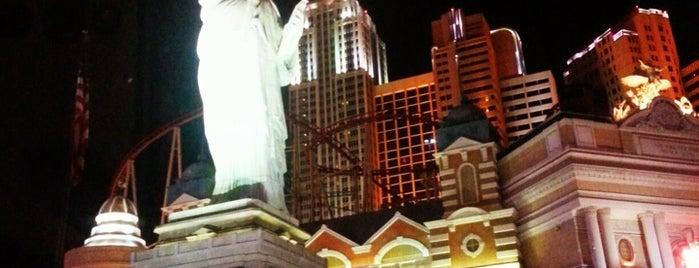 New York-New York Hotel & Casino is one of USA Trip 2013 - The Desert.