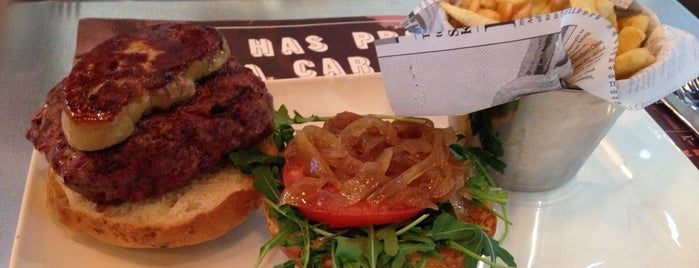 Steak Burger Bar is one of MADRID ★ Hamburguesas ★.