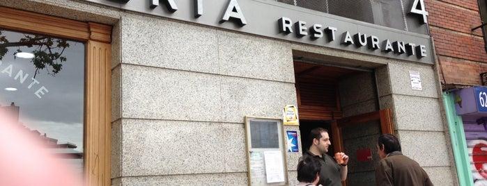 Bar Restaurante Iberia is one of Restaurantes que admiten cheques Gourmet.