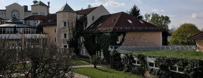 Columbia Hotel Bad Griesbach is one of Die schönsten Thermen und Wellnesshotels.