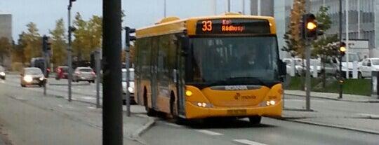 Bus 33 (Rådhuspladsen - Søvang, Rønnevej) is one of Lokale buslinjer i Hovedstadsområdet.