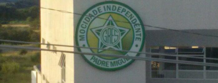 G.R.E.S. Mocidade Independente de Padre Miguel is one of Escolas de Samba do Rio de Janeiro.