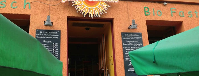 Yellow Sunshine Burger is one of Berlin's Best Vegetarian - 2013.