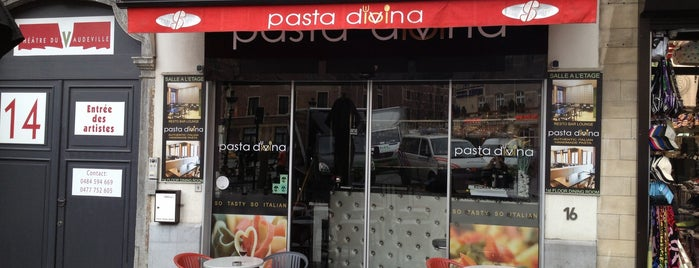 Pasta Divina is one of BXL to do.